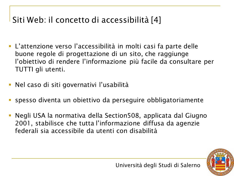 Siti Web: il concetto di accessibilità [4]